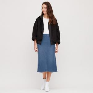 UNIQLO优衣库422709女士牛仔针织裙    79元
