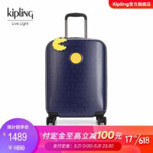 kiplingxPACMAN吃豆人合作款密码行李箱拉杆箱|CURIOSITYSPACM深蓝迷宫印花PC 1459.00元