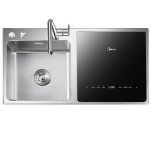 美的(Midea)S2水槽式洗碗机嵌入式家用全自动6套四合一刷碗一体机 2999.00元