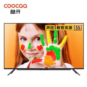 1日0点、61预告:coocaa酷开55P5055寸4K液晶电视 1699元包邮(需用券)