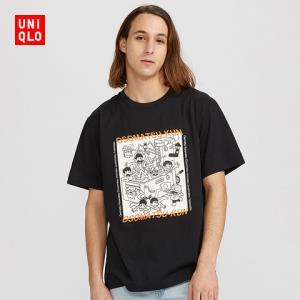 男装/女装(UT)MANGA印花T恤(短袖)427624优衣库UNIQLO 59元