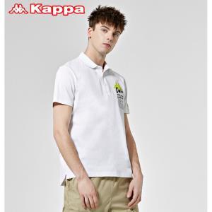 Kappa卡帕艺术家联名男运动短袖*3件 369元(合123元/件)