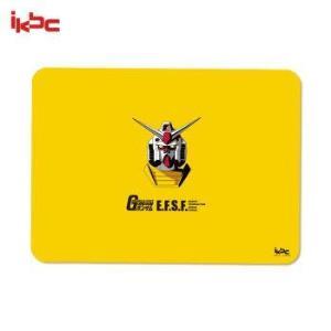 ikbc电竞游戏办公鼠标垫高达RX-78-2超薄鼠标垫桌垫黄色 79元