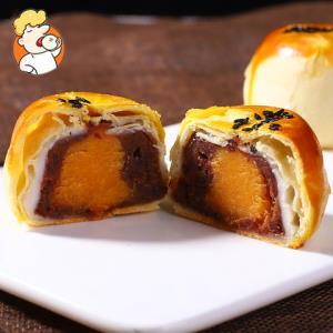 恒粤香蛋黄酥6枚红豆味水果味紫薯味雪媚娘麻薯糕点面包小吃零食 7.9元(需用券)