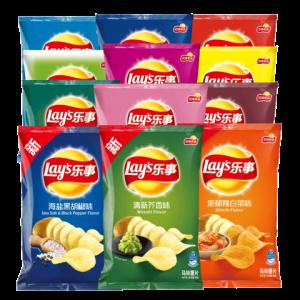 Lay's乐事薯片大礼包40g*11袋 24.9元(需用券)