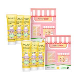 Ponds/旁氏Popmart泡泡玛特米粹洁面乳120g*3洗面奶礼盒2盒装 119.8元
