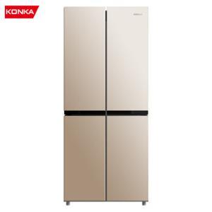 康佳(KONKA)308升十字对开门冰箱风冷无霜四对开门冰箱家用BCD-308WEGX4S    1399元