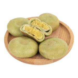 上行斋雪媚娘绿豆饼1000g整箱早餐面包糕点肉松饼网红小吃零食 13.9元(需用券)