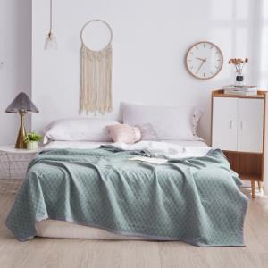 Xanlenss轩蓝仕JM格调馨雅纯棉针织棉空调被绿150*200cm 98元包邮(2人拼需用券)
