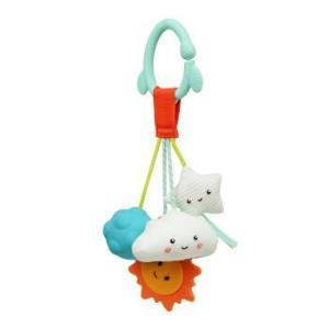 比乐(B.)玩具星星摇铃挂铃玩具可咬婴幼儿床头推车安抚新生0-1岁BX1757Z*2件 118元(需用券,合59元/件)