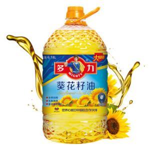 多力葵花籽油6.18L食用油 79.9元