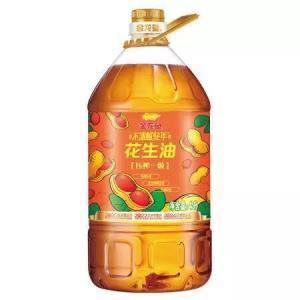 金龙鱼食用油物理压榨压榨一级花生油4L 74.9元