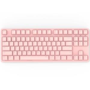 iKBCW200无线机械键盘(cherry静音红轴、粉色正刻、无光、无线、粉色、87键) 343元(需用券)