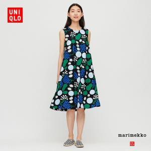 女装Marimekko全棉A字型连衣裙(无袖)427924 149元