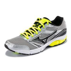 Mizuno美津浓缓冲跑鞋跑步鞋运动鞋男IMPETUS3J1GE151307银/黑/亮黄39 175元(需用券)