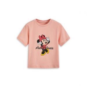 迪士尼童装-米奇米妮2020夏季新款时尚女童短袖T恤    39元