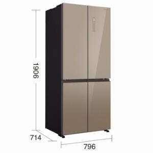 Panasonic松下NR-ED50CPP-S变频多门电冰箱 5990元包邮(双重优惠)