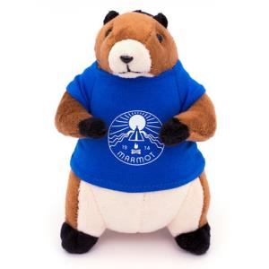 可爱凑单品丨Marmot土拨鼠G100土拨鼠造型挂件玩偶    低至59.8元