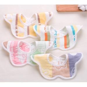 AIBEDILA爱贝迪拉婴儿纯棉围嘴口水巾3条装6.8元(需用券)