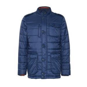 TRUSSARDIJEANS杜鲁萨迪男式深蓝色短款聚酰胺尼龙夹克外套52S000601Y090504U29052码 1797元