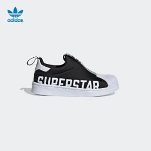 adidas阿迪达斯三叶草SUPERSTAR2020春夏男小童经典运动鞋EG3398黑色10-K*3件    855.36元(需用券,合285.12元/件)