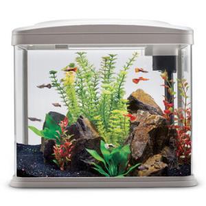 奇溢自然鱼缸水族箱鱼缸小型鱼缸水族箱造景水族箱鱼缸京东自营金鱼缸玻璃鱼缸小型鱼缸TL-428*2件    358元(合179元/件)