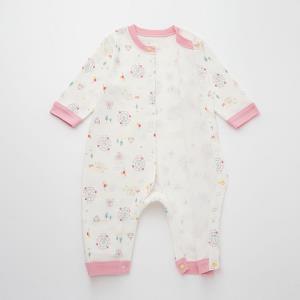 UNIQLO优衣库婴儿连体衣426049白色48cm 39元