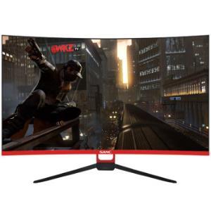 SANC32英寸2K144Hz显示器曲面屏电竞显示屏高清吃鸡游戏VA屏95Pro+32英寸2K+144HzVA屏1399元