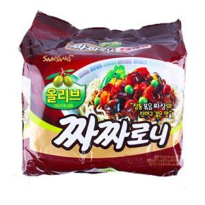 SAMYANG三养火鸡泡面炸酱面5连包共700g 18.9元(需用券)