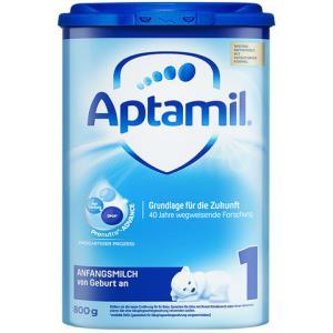 Aptamil德国爱他美HMO升级婴幼儿配方奶粉海外易乐罐1段(0-6个月)800g/罐爱尔兰原装进口*2件 301.8元(需用券,合150.9元/件)