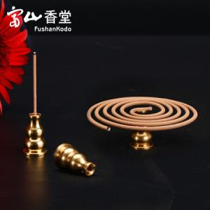 FushanKodo富山香堂纯铜葫芦香插*3件    18.69元(合6.23元/件)