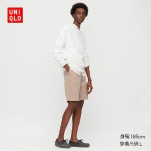 UNIQLO优衣库425143中性款全棉短裤    129元