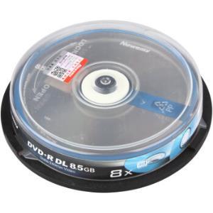 纽曼DVD+RDL空白光盘/刻录盘8速8.5G单面双层系列桶装DVD刻录碟片10片*2件29元(合14.5元/件)