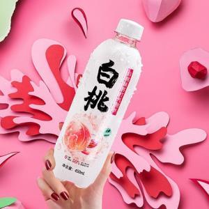 秋林QiuLin苏打水白桃味苏打气泡水0糖汽水饮料450ml*12瓶/箱    29.9元(需用券)