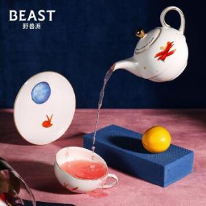 野兽派(THEBEAST)创意礼品小王子梦想家系列单人茶具永生花礼盒520生日礼物送女生529元
