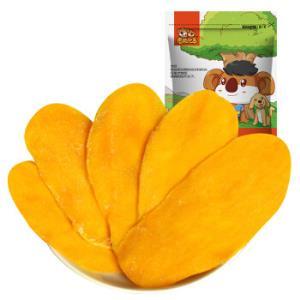 考拉兄弟芒果干果脯果干零食水果干芒果片休闲零食100g*3件20.79元(合6.93元/件)