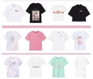 ONEMORE女士短袖T恤*3件    167元(合55.67元/件)