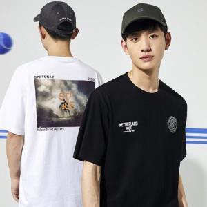 PEACEBIRDMEN太平鸟BWDAA2258男士短袖T恤 低至105.9元(需用券)