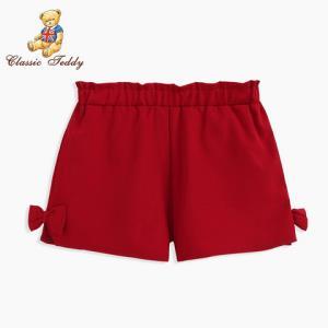 1日0点:CLASSICTEDDY精典泰迪 女童休闲短裤