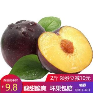 黑布林新鲜李子脆酸李子恐龙蛋孕妇水果3斤 18.8元