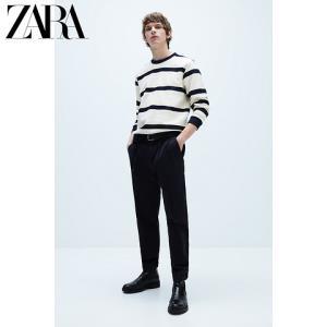 ZARA04087403066男士条纹纹理卫衣 79元