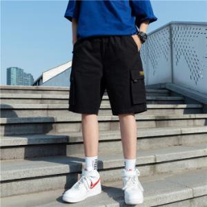 夏季工装短裤男士潮流ins宽松潮牌薄款休闲裤子帅气五分裤*3件 150.45元(合50.15元/件)