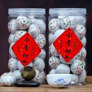 柏叶韵正宗新会小青柑普洱茶一罐250g*2件+凑单品 49元(需用券,合24.5元/件)