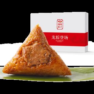 卫龙辣味辣条梅干菜肉粽端午节早餐方便零食粽子100g*6礼盒装礼盒 9.95元(需用券)