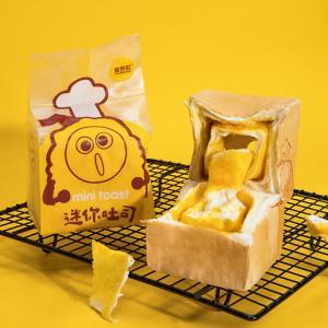 甜苦瓜咸蛋黄纯奶手撕面包奶香夹心吐司手工营养早餐休闲零食品*4件 18.9元(合4.73元/件)