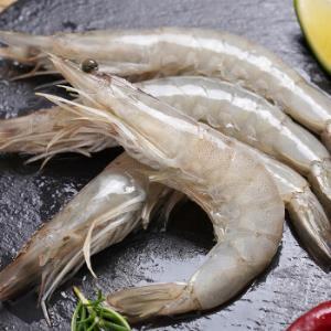 �谣厄瓜多尔白虾/沙特白虾原装进口净重1kg+凑单品 64元(需用券)