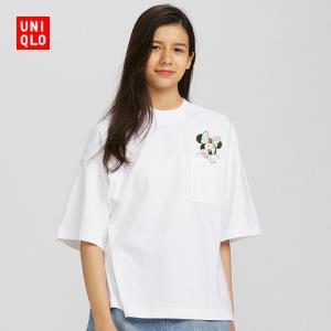 UNIQLO优衣库DPJ428404印花短袖T恤    79元