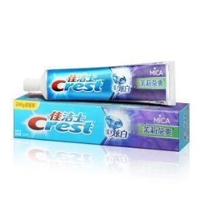 佳洁士(Crest)3D炫白茉莉茶爽牙膏240克(新老包装,随机发货)*24件 196.8元(需用券,合8.2元/件)