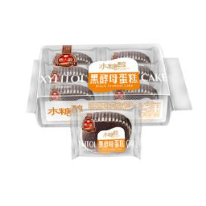 唐人福无蔗糖食品黑酵母蛋糕200g*13件    159.4元(合12.26元/件)