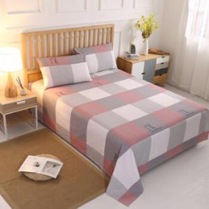 诺塔新款老粗布床单纯棉双人空调席单件